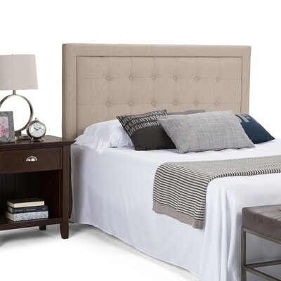Cassidy Tufted Queen Upholstered Panel Headboard