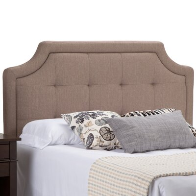 Fiona Tufted Queen Upholstered Panel Headboard
