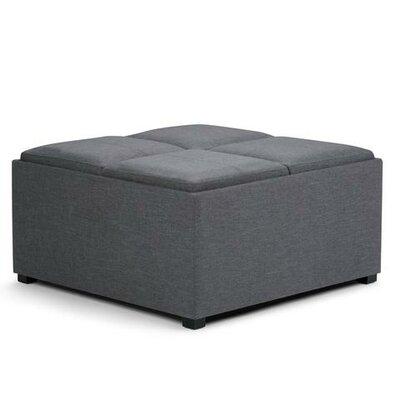 Avalon Storage Ottoman Upholstery: Slate Gray