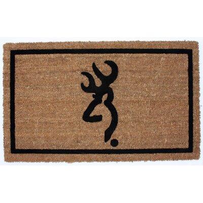 Buckmark Doormat