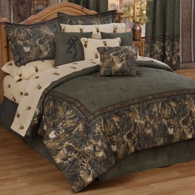 Whitetails Comforter Set Size: King