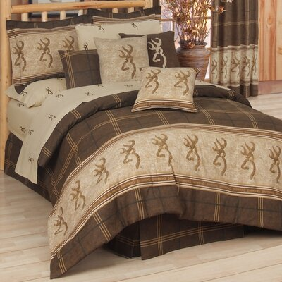 Buckmark Comforter Set Size: California King