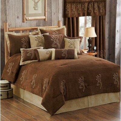 Buckmark Comforter Set Size: King
