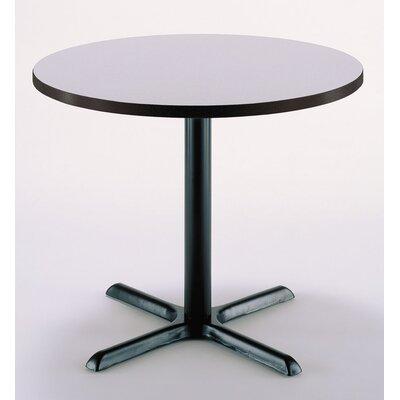 30 Round Pedestal Table Color: Grey Nebula, Size: 29H x 30W