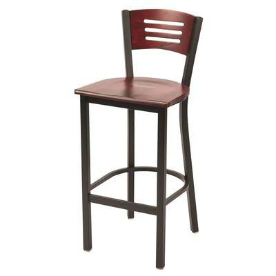30 Bar Stool Upholstery: Mahogany