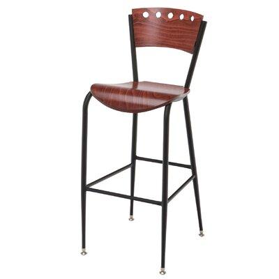 31 Bar Stool Upholstery: Mahogany