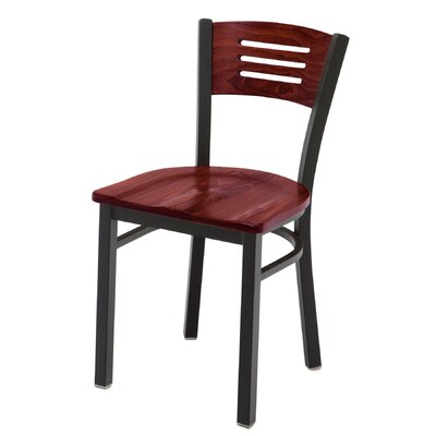 Cafe Side Chair Finish: Mahogany