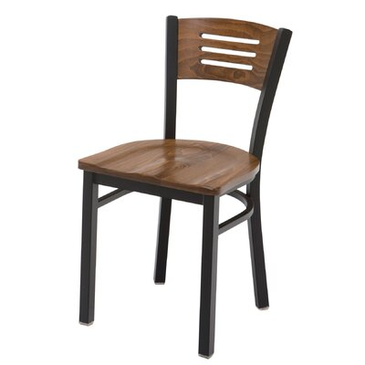 Cafe Side Chair Finish: Walnut