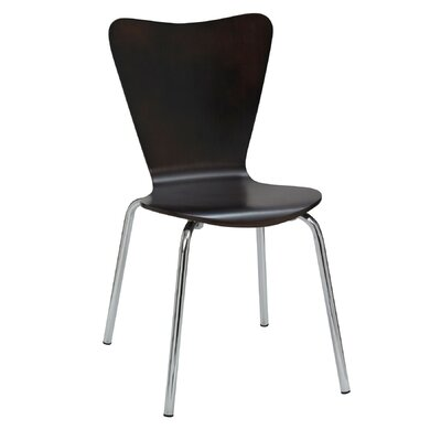 Cafe Side Chair Finish: Espresso