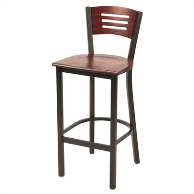 Mahogany 30 Bar Stool