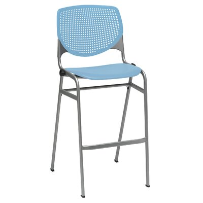 Lundell 30 Bar Stool Upholstery: Sky Blue