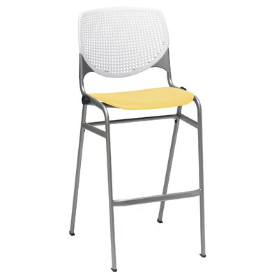 Kool 30 Bar Stool Finish: White/Yellow