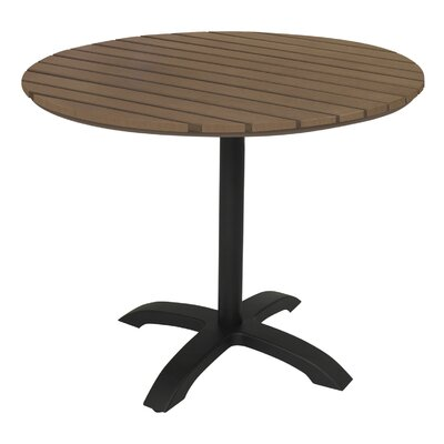 Eveleen Pedestal Dining Table Finish: Mocha