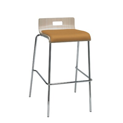 Winhall Low Back 30 Bar Stool Finish: Fiesta/Natural