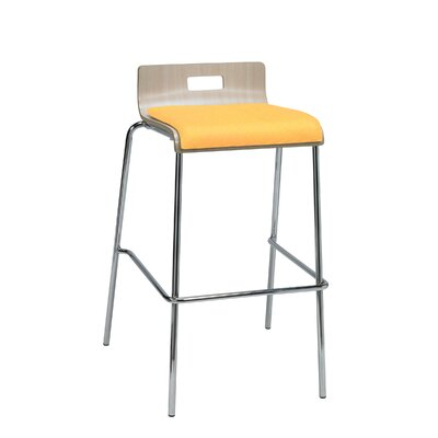 Winhall Low Back 30 Bar Stool Finish: Daffodil/Natural