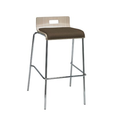 Winhall Low Back 30 Bar Stool Finish: Fudge/Natural