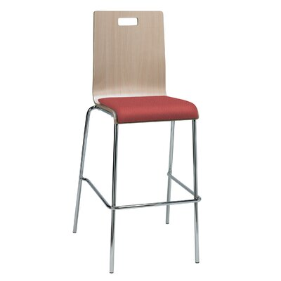 Winhall 30 Bar Stool Finish: Lipstick/Natural