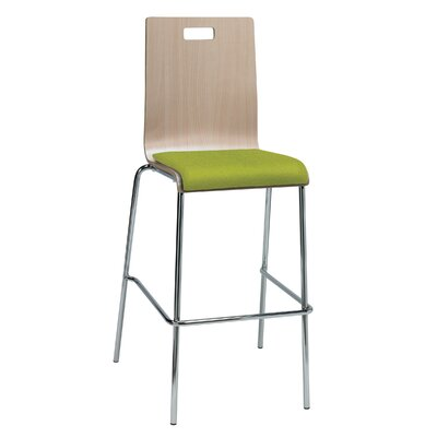 Winhall 30 Bar Stool Finish: Avocado/Natural