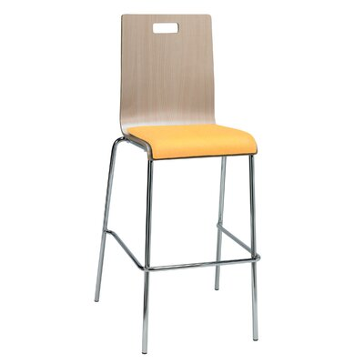 Winhall 30 Bar Stool Finish: Daffodil/Natural