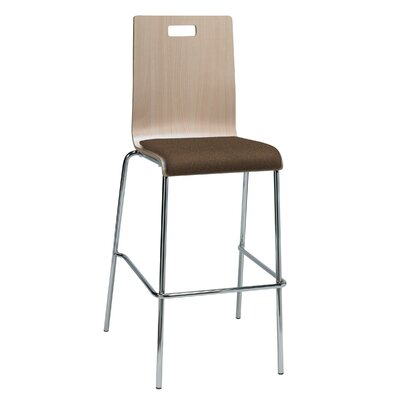 Winhall 30 Bar Stool Finish: Fudge/Natural