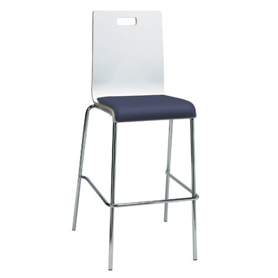 Winhall 30 Bar Stool Finish: Grape/White