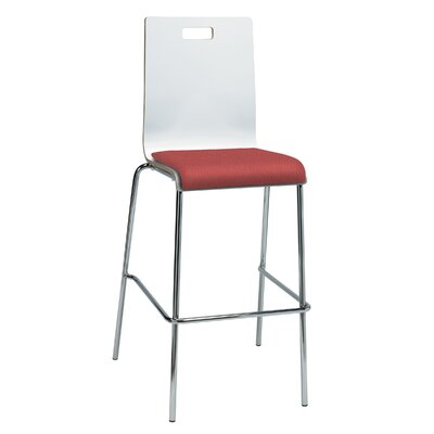 Winhall 30 Bar Stool Finish: Lipstick/White