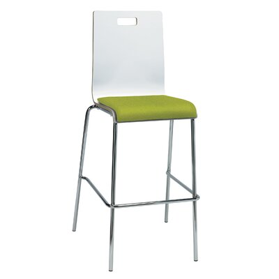 Winhall 30 Bar Stool Finish: Avocado/White