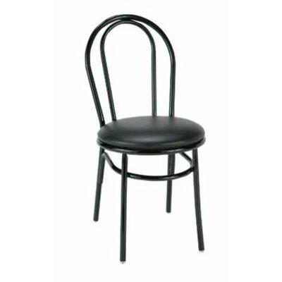 Dining/Breakroom Chair Upholstery: Ebony Vinyl