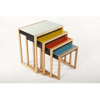 The Bayer 4 Piece Nesting Tables