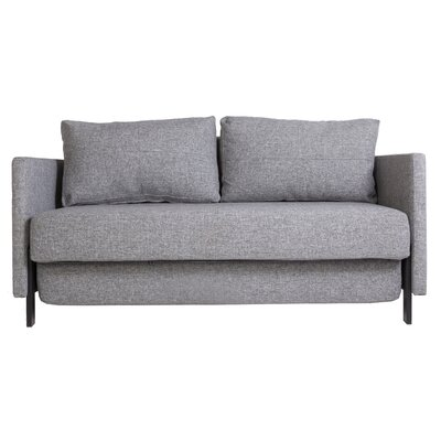 Eriksen Sleeper Sofa Upholstery: Twill Black