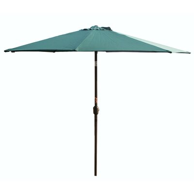 9 Market Umbrella Fabric: Sage