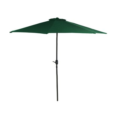 7.5 Market Umbrella Color: Hunter Green