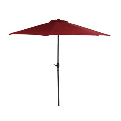 7.5 Market Umbrella Color: Burgundy