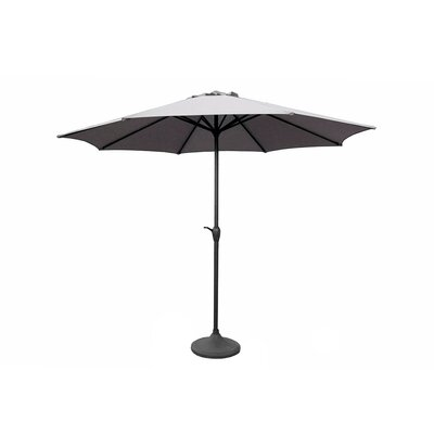 9' Market Umbrella Color: Gray 93492