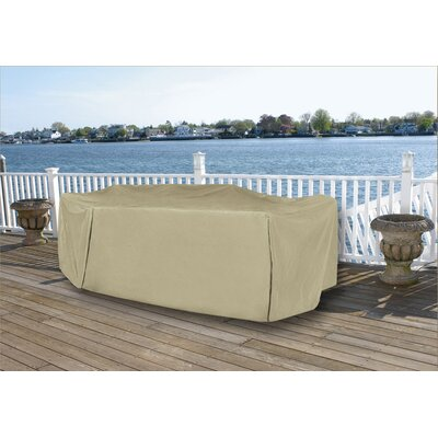 Durable Vinyl Premium Outdoor Round Patio Full Set Cover