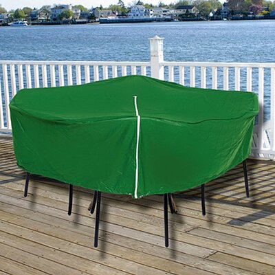 Durable Round Outdoor Patio Set Vinyl Furniture Cover 97693