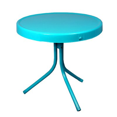 Bistro Table Finish: Turquoise Blue