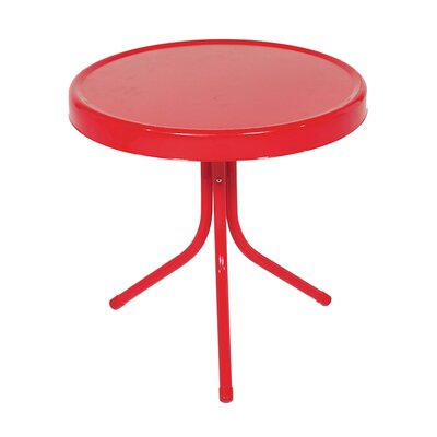 Bistro Table Finish: Vibrant Red