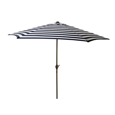 8 Market Umbrella Color: Navy/White