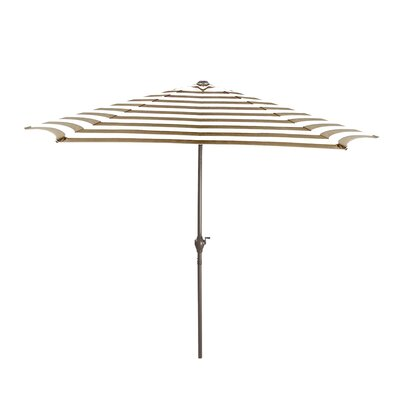 8 Market Umbrella Color: Taupe/White