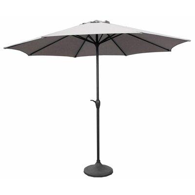 9 Market Umbrella Fabric: Grey