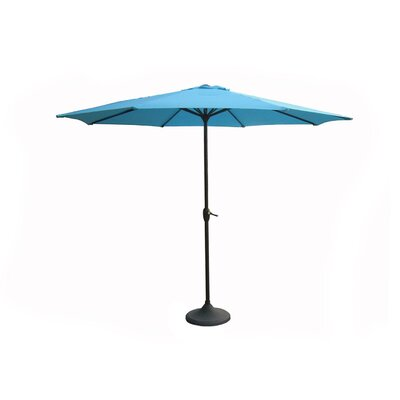 9 Market Umbrella Color: Turquoise Teal