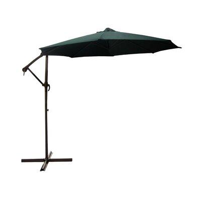 9.5 Cantilever Umbrella Color: Green