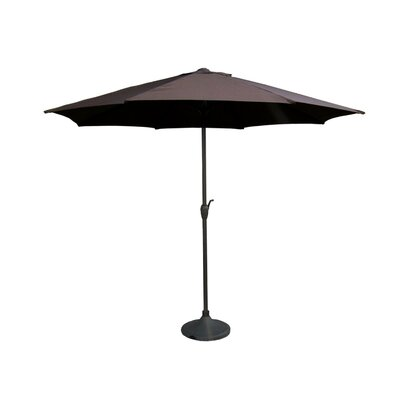 9' Market Umbrella Color: Brown/Black 93167
