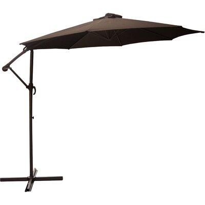 9.5 Cantilever Umbrella Color: Brown