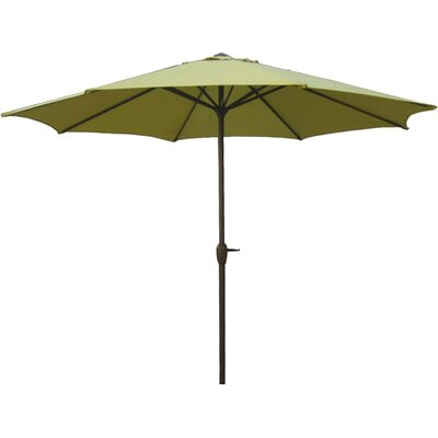 9 Market Umbrella Color: Sage/Brown/Black