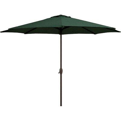 9 Market Umbrella Color: Hunter Green/Black