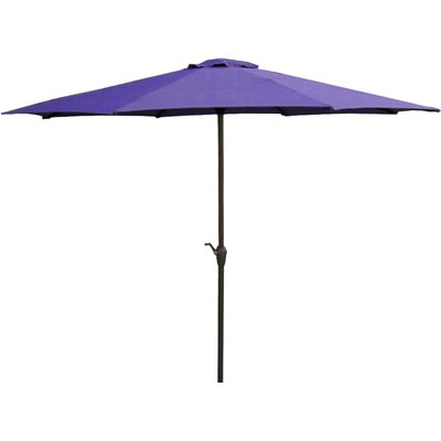 9' Market Umbrella Color: Purple/Brown 93154