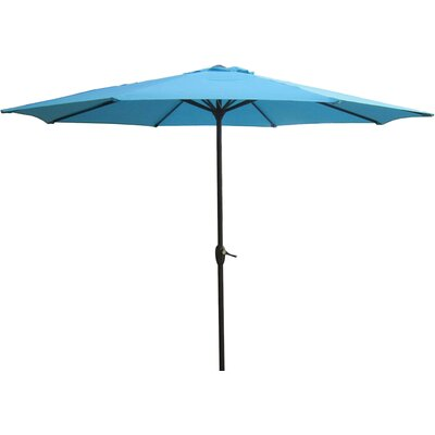 9' Market Umbrella Color: Turquoise Teal 93156