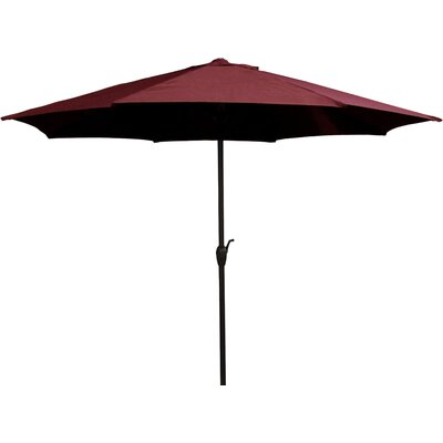 9' Market Umbrella Color: Burgundy 93168